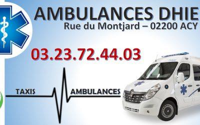 Partenariat : Ambulances Dhieux