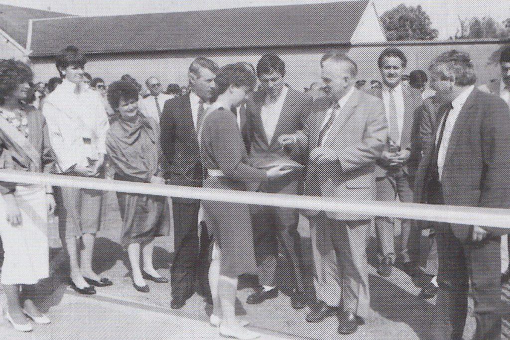 Inauguration du gymnase