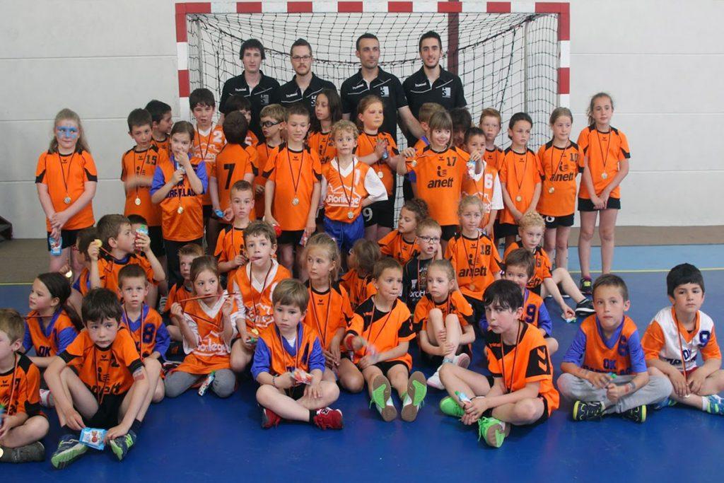 Réorganisation de l'Ecole de Handball