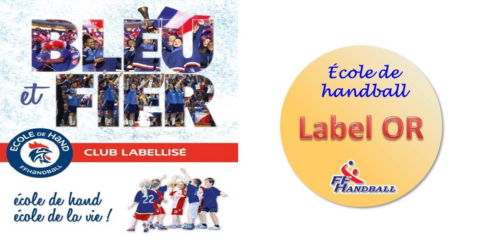 Courmelles Handball : Une école en Or !